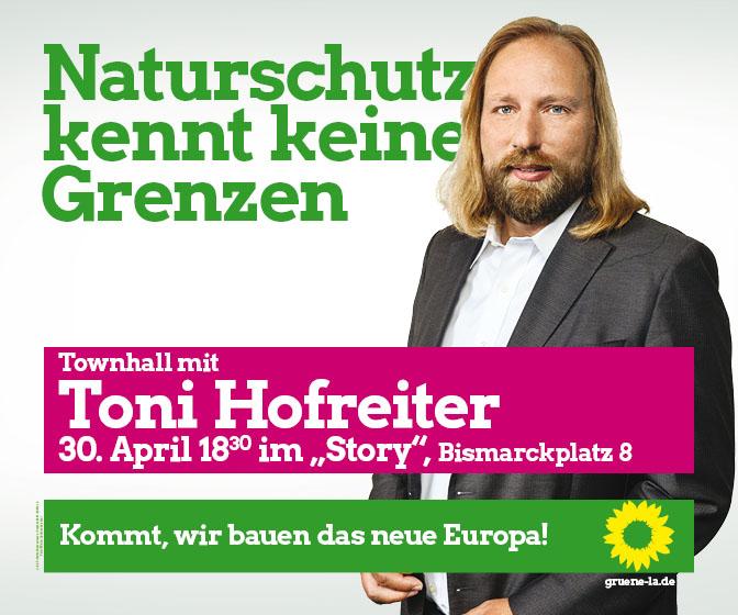Grüne Toni Hofreiter